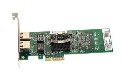 Original 82576 E1G42ET dual port Gigabit adaptador de servidor PCIe NIC