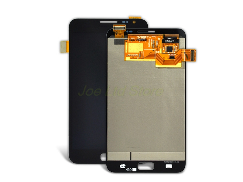 ФОТО 5pcs/lot New Original Lcd+digitizer Dhl Mobile Phone Parts Display For Samsung Note N7000 I9220 White Free Shipping