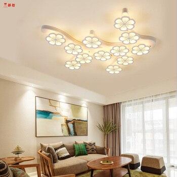 Modern brief plum blossom led ceiling lights for living room bedroom dinningroom led ceiling lamp  Free shippin dining-room