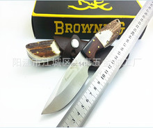 58HRC 7Cr17MOV Wild duck Survival Camping Hunting small straight knife Collect outside knives