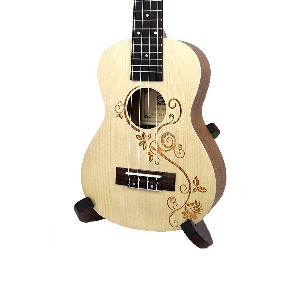 Нейлоновая 4 струнная концертная банджо 26 дюймов Уке укулеле бас гитара ra для музыкальных струнных инструментов подарок для влюбленных - 4