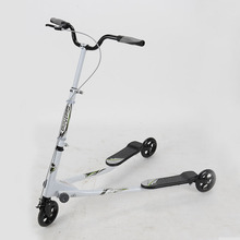 For Adult high quality three-wheel Foot Scooters Folding Kick Scooters twisting scooter
