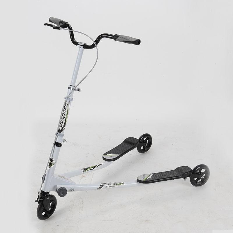 Prix pour Pour Adultes de haute qualité trois-roue Scooters Pied Pliant Kick Scooters torsion scooter