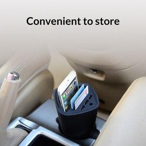 Image 3 - ORICO 자동차 충전기 3 USB DC/5V 7.2A 컵 전원 소켓 어댑터 담배 라이터 분배기 카드 홀더 슬롯