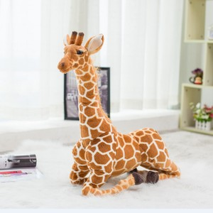 Image 3 - Giant size Giraffe Plush Toys Cute Stuffed Animal Soft Giraffe Doll Birthday Gift Kids Toy