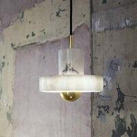 Мода ужин с мраморным украшения спальни лампы 110 265 В AC Белый Мрамор Настенные светильники простые настольные лампы