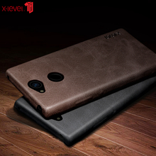 For Sony Xperia XA2 XA3 Ultra Phone Case Back Cover For Sony Xperia 10 Plus Soft Feel Luxury Leather Retro style Free shipping цена 2017