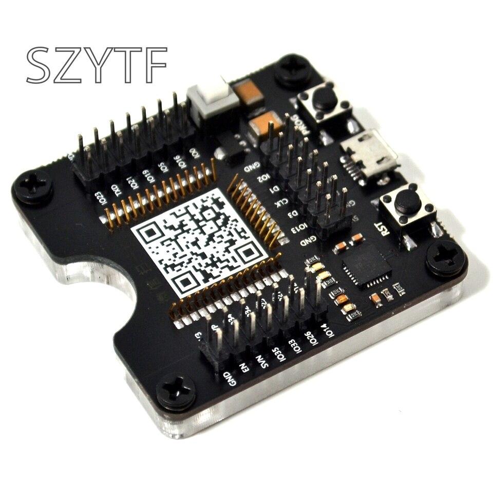 ESP32 prueba Junta ESP32-WROVER pequeño lote quemar accesorio para ESP-32 para ESP-WROOM-32 módulo