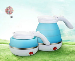 Electric kettle Travel folding silicone kettles 0.5l portable electric Safety Auto-Off Function