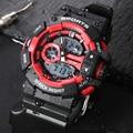 Men Watches 2018 ALIKE Male Sports Clock 50m Waterproof Digital Watch G Style Quartz Shock Watch Relojes Hombre hodinky Dropship
