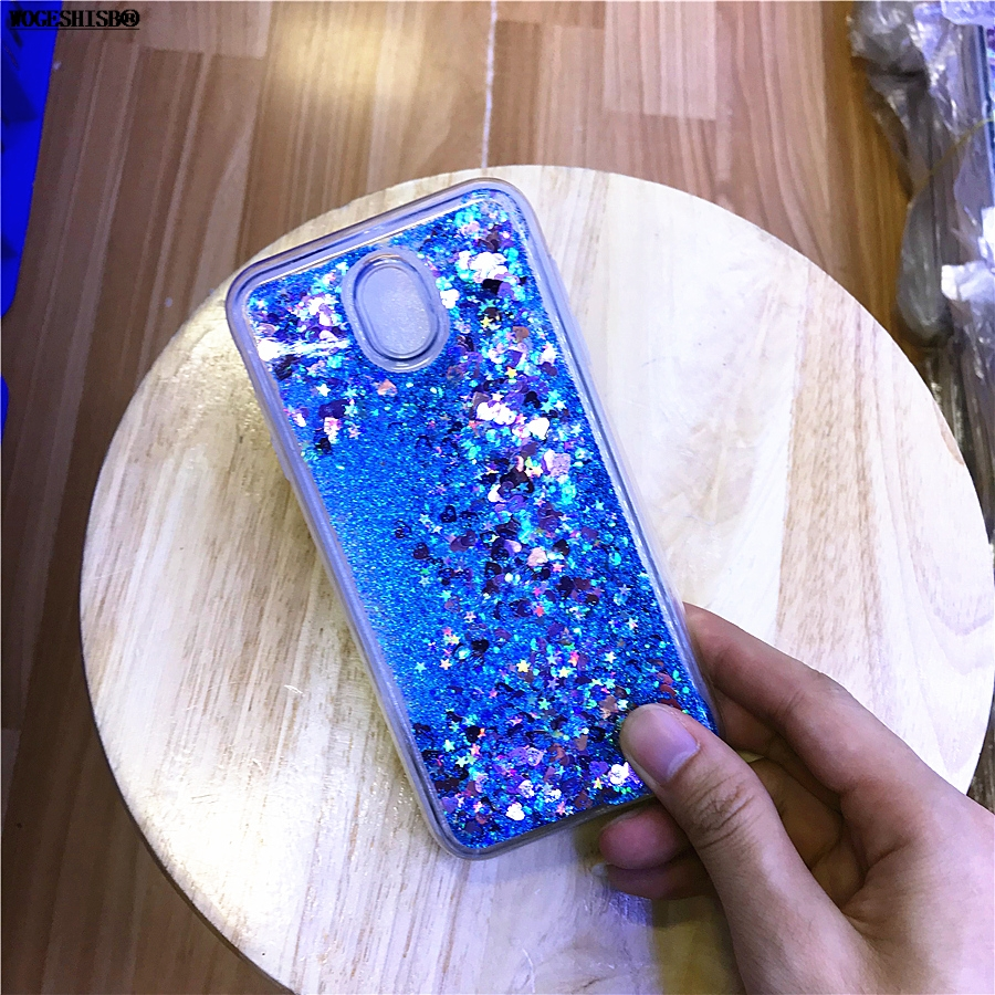 Half-wrapped Case Cellphones & Telecommunications Liquid Water Case For Samsung Galaxy 2017 Eu J3 J330 J5 J530 J7 J730 Pro Dynamic Flowing Glitter Quicksand Star Cases Tpu Cover Traveling