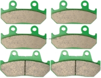 Brake Pad Set For HONDA CBR600F CBR600 CBR 600 F R HURRICANE 1987 1988 1989 1990