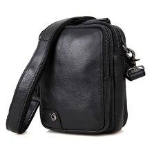 Genuine Leather Shoulder Bag Messenger Bag Work Bag for Men 1007A