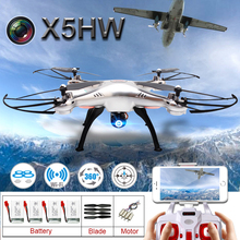 2016 NEW Syma X5HW FPV RC Quadcopter Dron with WIFI Camera 2.4G 6-Axis Upgrade RC Helicopter Toys