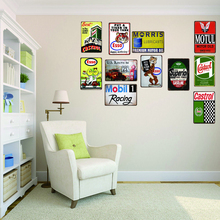 Vintage Tin Signs  Shabby Chic Motor Home Metal Plate Wall Bar Art Garage Decor Poster 30X20CM DU-2140