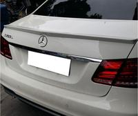PAINT ABS CAR REAR WING TRUNK LIP SPOILER FOR 08 15 BENZ W212 AMG E class E320 E260 E300 E63 2008 2015 FAST BY EMS