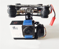 Special Aerial FPV Gopro3 Dog 3 Brushless Gimbal PTZ Gopro Two Axis Copter 3 Axis Quadcopter
