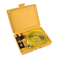 WSFS Hot Sale 8pc Down Lights Hole Cutter Saw Holesaw Kit Set Yellow