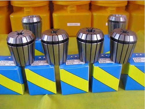 Best Price 24pcs er40 collet chuck set ER40 diameter 3mm 26mm for CNC milling lathe tool
