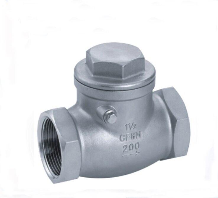 1-1/4 Female swing check valve