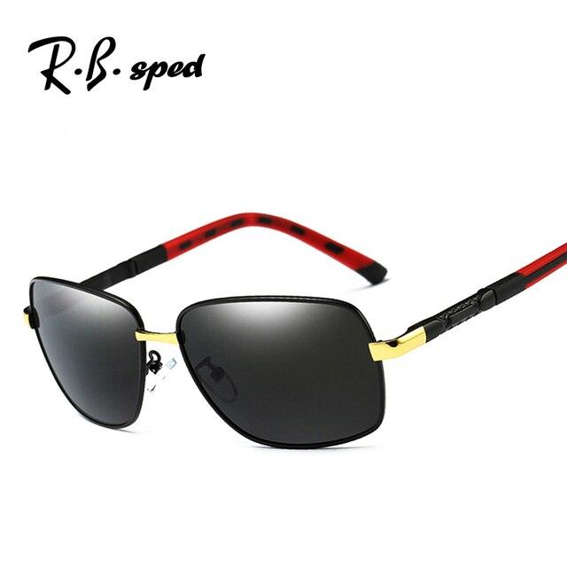 a436bc6f68 Brand Designer polarized mens sunglasses Aluminum Magnesium driving sun  glasses for men oculos retro goggles gafas de sol hombre