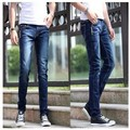 2017 New Arrival Spring Men's Pencil Jeans Men Slim Pants The Hole Fashion Casual Denim Comfortable Pants Trousers 13M0130
