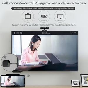 Image 3 - 2.4 グラム/5 グラム無線 Lan テレビドングルワイヤレス画面変換 1080 1080P 高精細プラグアンドプレイアダプタコネクタ用