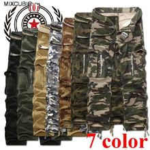 FAVOCENT Summer camouflage tactical pants War Game Cargo pants mens Army military