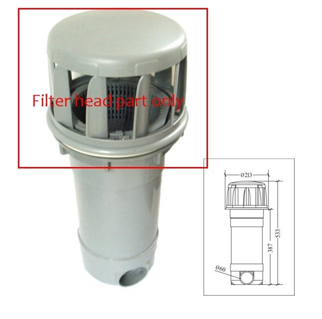 Tête de protection de écumeur de panier de station thermale chinoise, partie de skimer d'écoulement de filtre et accessoires de filtre de station thermale pour JNJ, MEXDA, Winer, Monalisa,