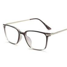 Black Computer Glasses With Clear Lens Optical Reading Eyeglasses Protection Eyewear Brand Glasses Frame TR90 Titanium Women Men