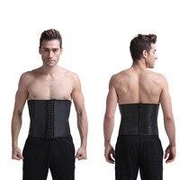 Lissage 9 Os Underbust Pas Cher serre-Taille Corsets latex lisse taille formateur taille minceur corset corps shaper
