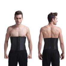 477ea7b21c0 Smoothing 9 Bones Underbust Cheap Waist cincher Corsets latex smooth waist  trainer waist slimming corset body shaper