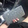 Deslumbrante Mulher saco de Noite Com Strass Diamante Embreagem Dia Carteira de Embreagem Bolsa de Casamento de Cristal Do Partido Banquete Bolsa
