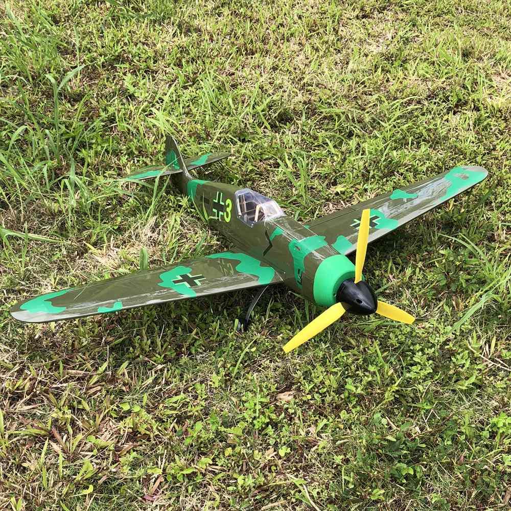 Free Shipping Balsa RC Plane DIY Kit 1400mm BF109 ME 109 Warbird