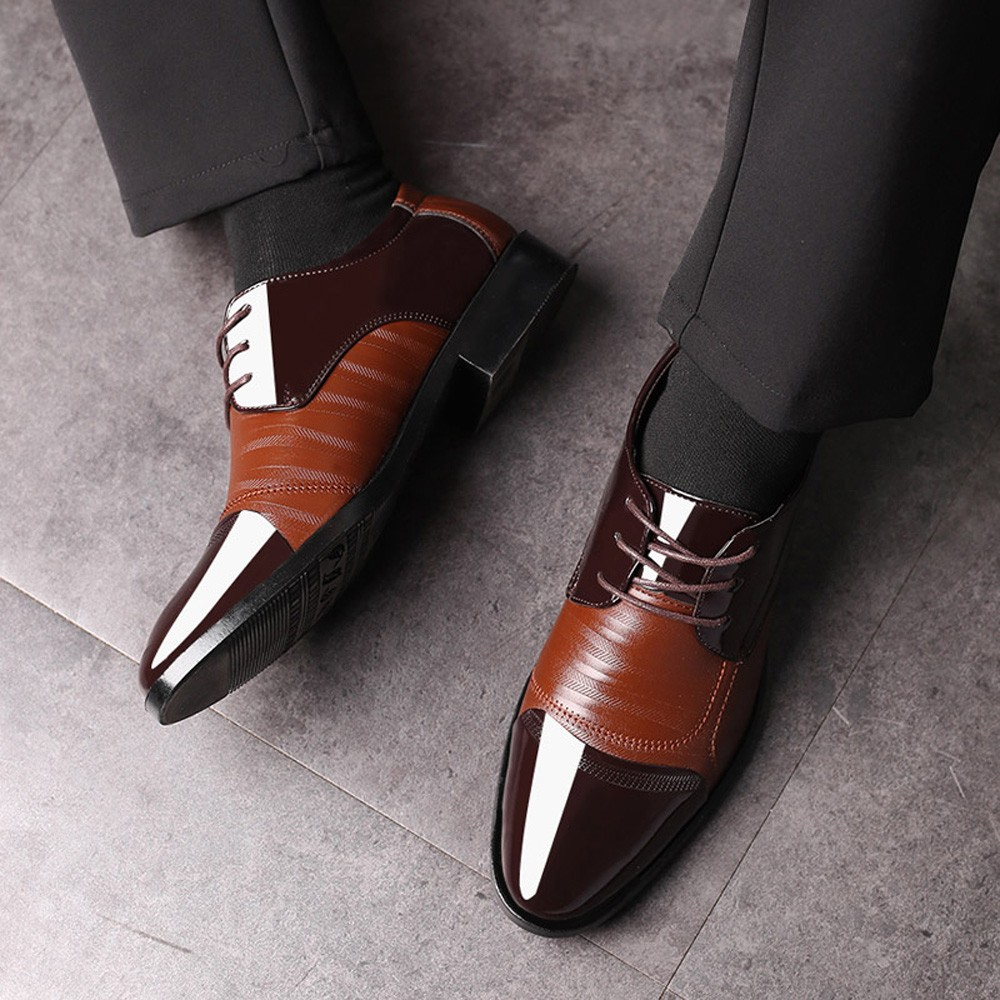 Men Dress Office Luxury Shoes