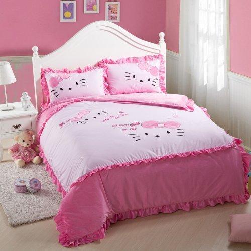Home Textile Hello Kitty Hello Kitty Bedding Queen King