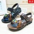 Sandálias Sapatos 2016 Nova Chegada de verão Bonito do Urso Legal Meninos de Couro PU Crianças sandálias Menino Crianças sapatos Frete Grátis