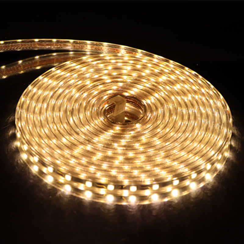 Image 3 - LED Strip SMD 5050 220V Waterproof Flexible LED light Tape 220V lamp Outdoor String 1M 2M 3M 4M 5M 10M 12M 15M 20M 25M 60LEDs-in LED Strips from Lights & Lighting