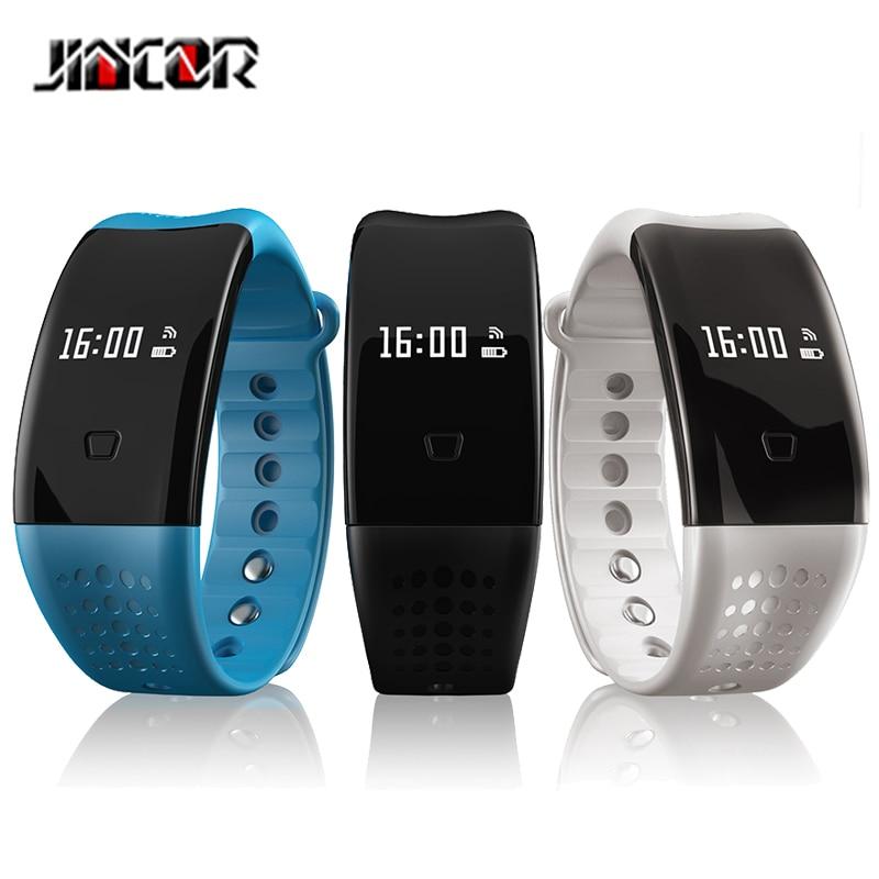 JINCORS mart wristbands W2S Sports Smart Bracelet Green Dynamic Heart Rate G sensor Blood Pressure Oxygen