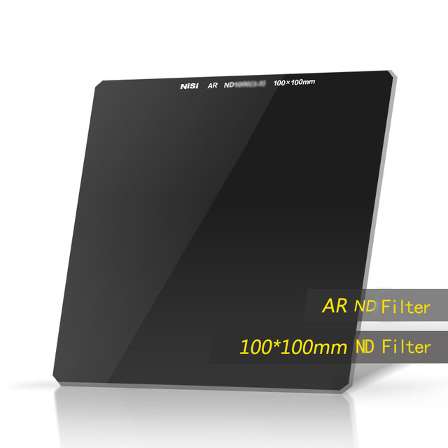 NiSi ND1000 ND64 ND16 ND8 100*100mm Camera Filter Square ND Filter Optical Glass Double Side Ultra Coating For Under 82mm Lens стоимость