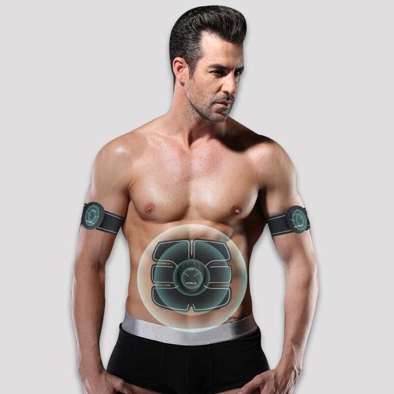 цена на Muscle Stimulator EMS Stimulation Body Slimming Beauty Machine Abdominal Muscle Exerciser Training Device Body Massager Belt
