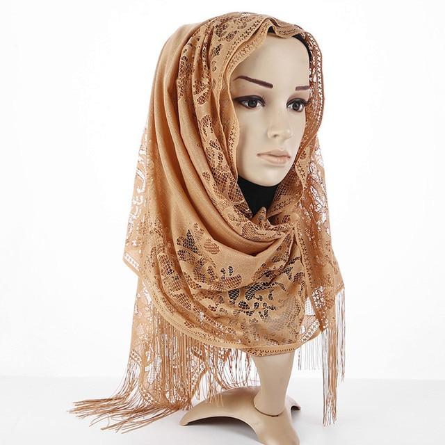 Hijab Scarf Tassel Shawl