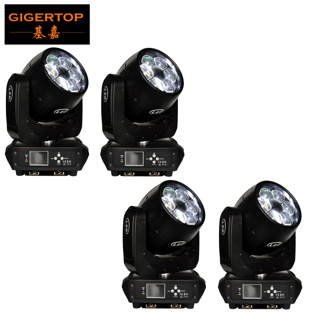 Factory Directly Supply 4 Pack 280W Super Bee Eyes 6x40W Led Zoom Moving Head Light Quad
