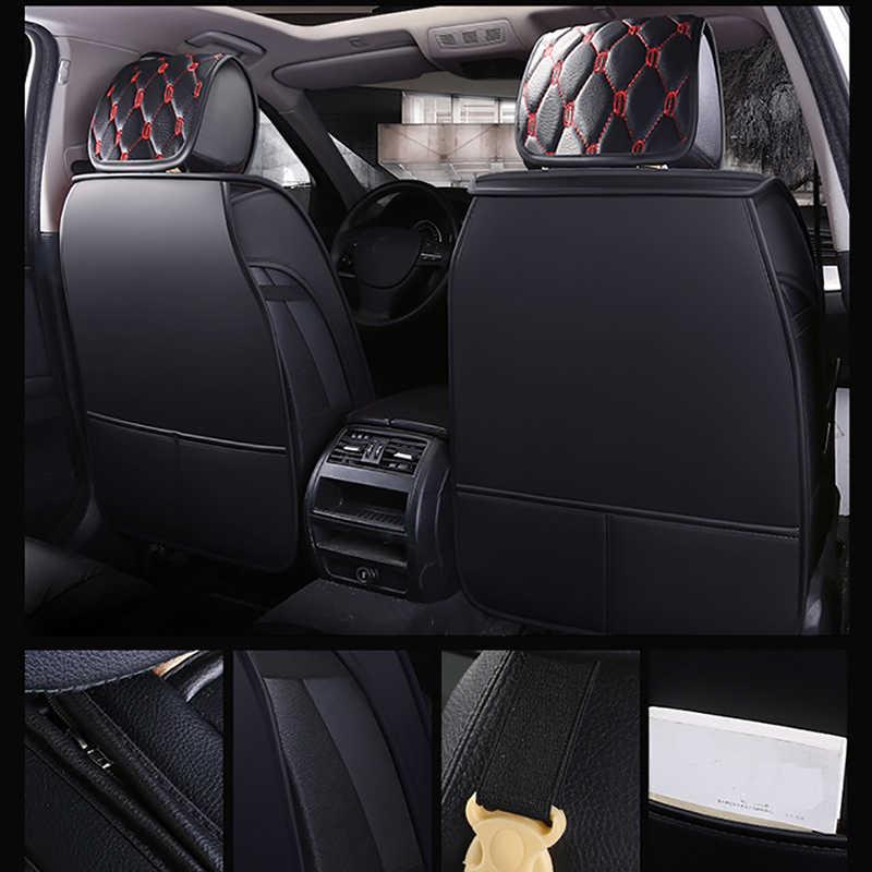 Wenbinge specjalna skórzana pokrowce na siedzenia samochodowe nissan qashqai j10 almera n16 uwaga x-trail t31 patrol y61 juke liść teana stylizacja
