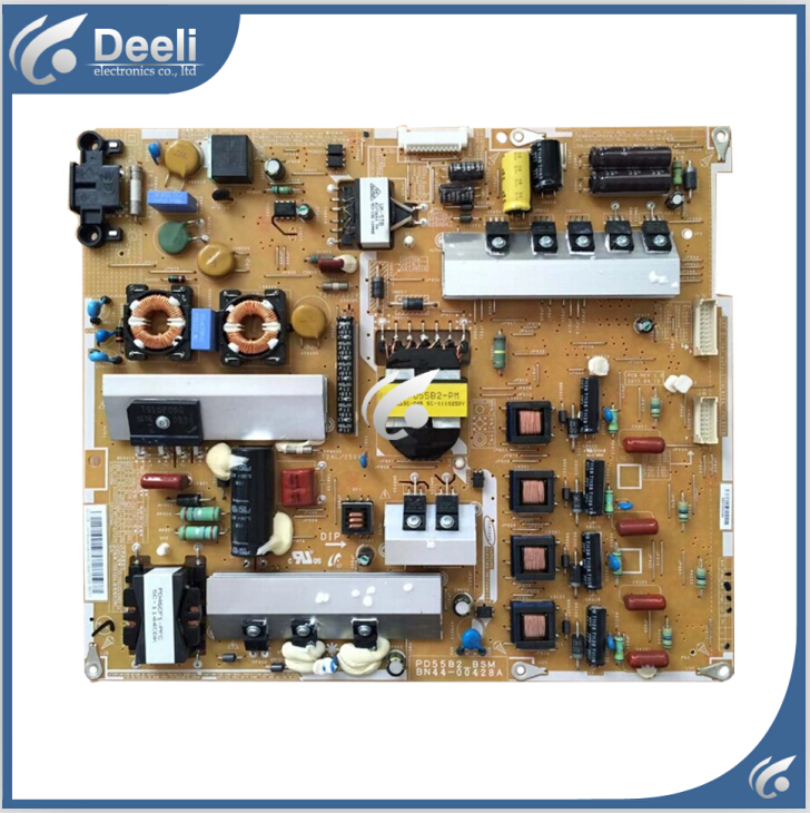 Working good 95% new original for Power Supply Board BN44-00428A PD55B2_BSM BN44-00427A Board 95% new used board good working original for power supply board la40b530p7r la40b550k1f bn44 00264a h40f1 9ss board