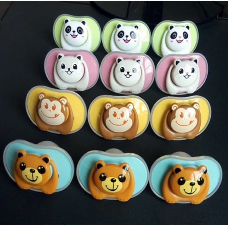 The New Baby Pacifier Bear Pacifier Panda Chupeta Silikon Baby Teat - Baby mating - Bilde 4