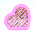 Free Shipping Cheap Cute Anti Allergy Plastic Stick Wood Stud Earrings Mixed Designs In Random 36pairs/box