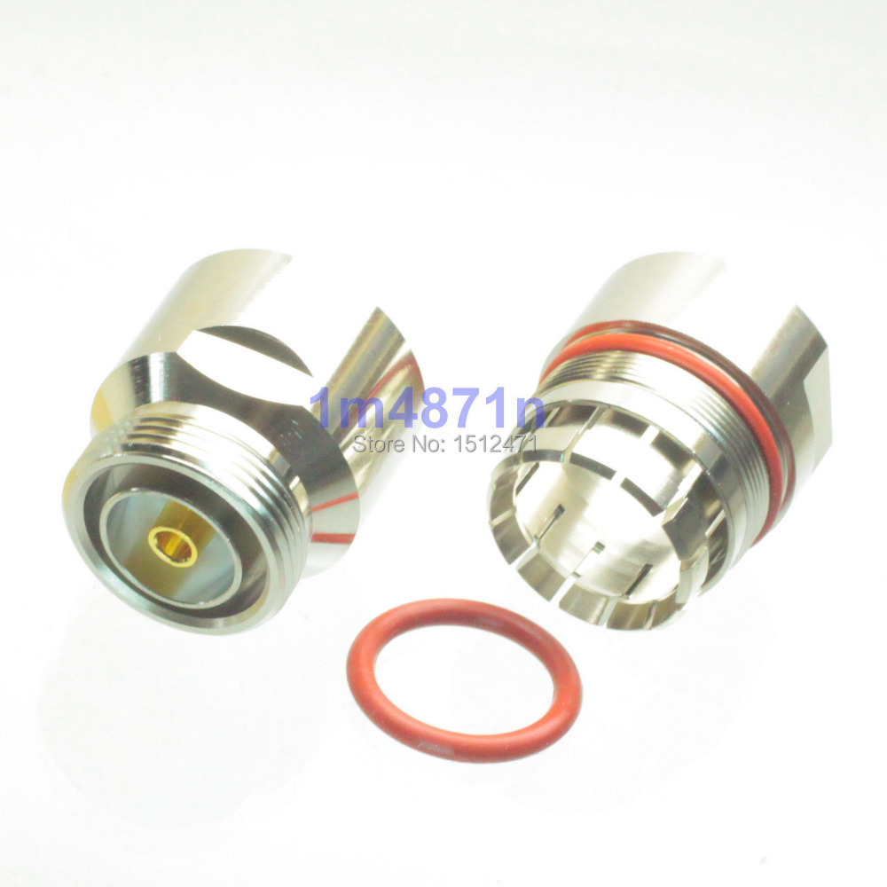 """1pce connector 7/16 DIN female clamp 7/8"""" cable straight"""