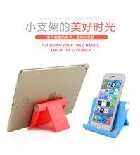 Universal desktop поддержка для iphone 5s 6s plus 7 P Мобильного телефона держатель для Samsung s6 xiaomi mi3 Отдых офис кровать поп-Оригинальный