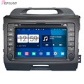 Top 8'' Quad Core S160 Android 4.4 Car DVD GPS For Kia Sportage 2014 With Mirror Link Wifi Stereo Radio Multimedia Free Shipping